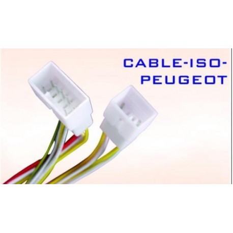 Conector auto ISO-PEUGEOT