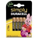 Set 4 baterii R3 Duracell Simply
