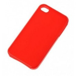 Husa BACK COVER CASE Iphone 4G rosu