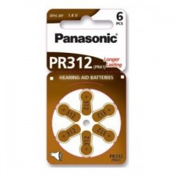 Baterie PR312 aparat auditiv Panasonic