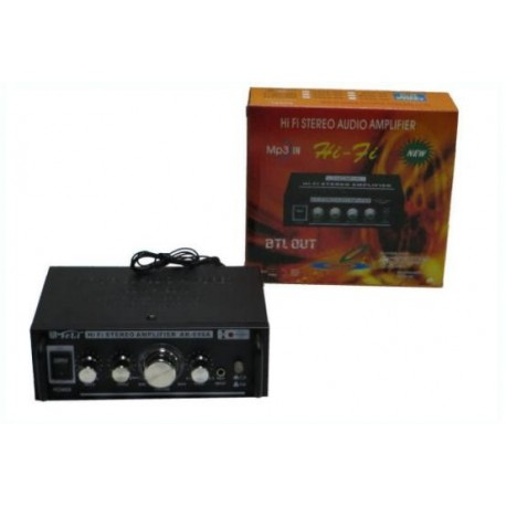 Amplificator camera 2x20W cu radio